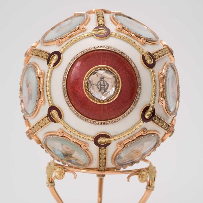 Uovo di Pasqua del 1904, parte superiore