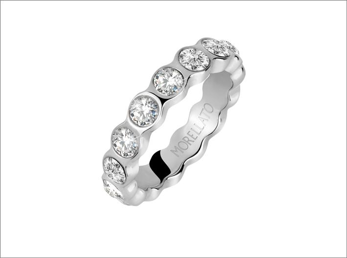 Morellato, anello della collezione Cerchi