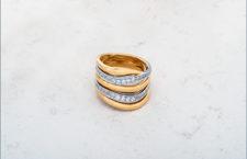 Chimento, anello della collezione Stretch Nuvola