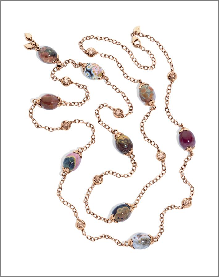Collana della collezione Ocean Jasper