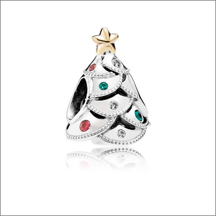 Charm albero di Natale di Pandora