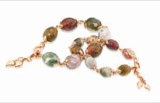 Bracciali in oro rosa della collezione Ocean Jasper