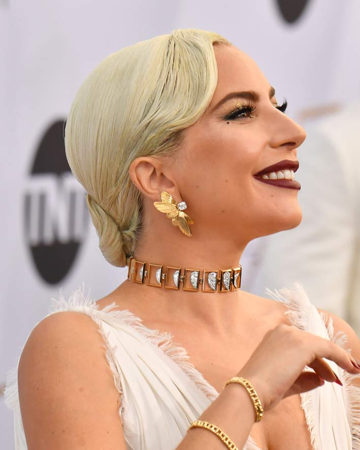 Lady Gaga agli Screen Actors Guild Awards
