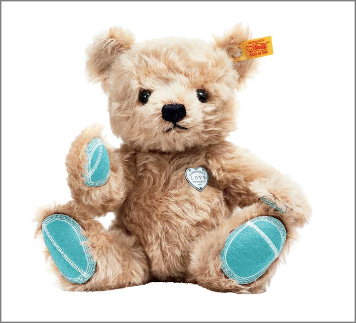 Teddy Bear in mohair, Tiffany x Steiff