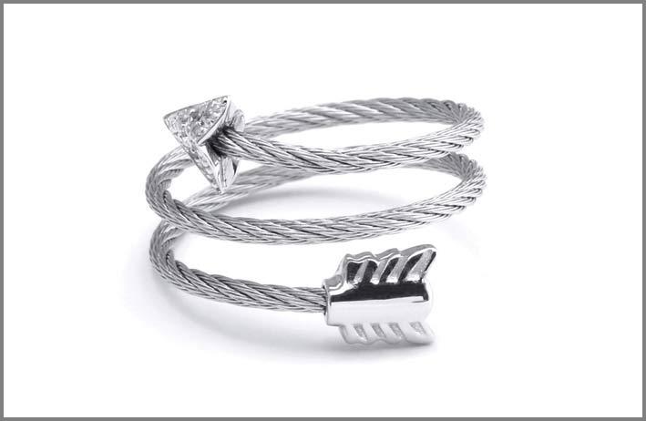 Charriol, anello della collezione Crazy in Love Again