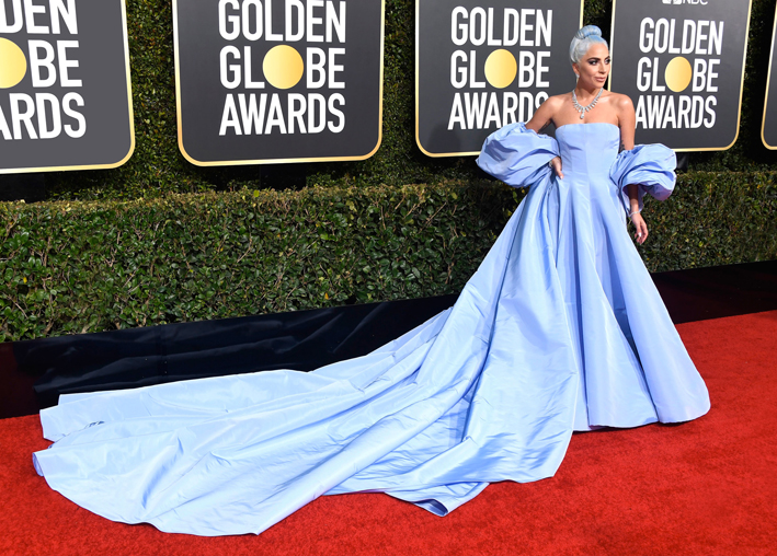 Lady Gaga ai Golden Globes