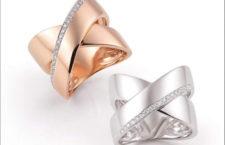 Nuovi anelli in oro e diamanti della linea Serenata