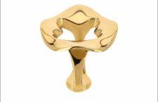 Antonini, anello in oro giallo della collezione Cento100
