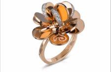 Chantecler, anello della collezione Paillettes
