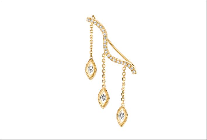 Gli orecchini con diamanti sintetici indossati da Meghan Markle