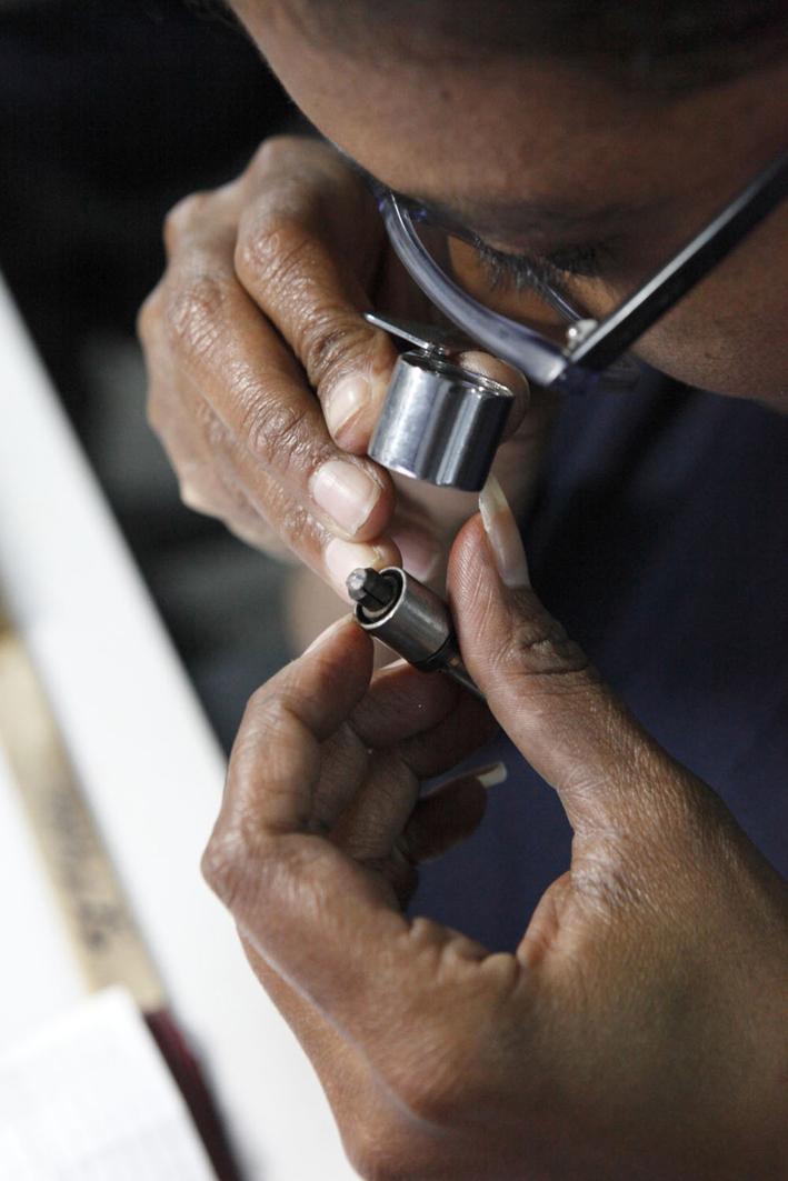 Diamanti al microscopio