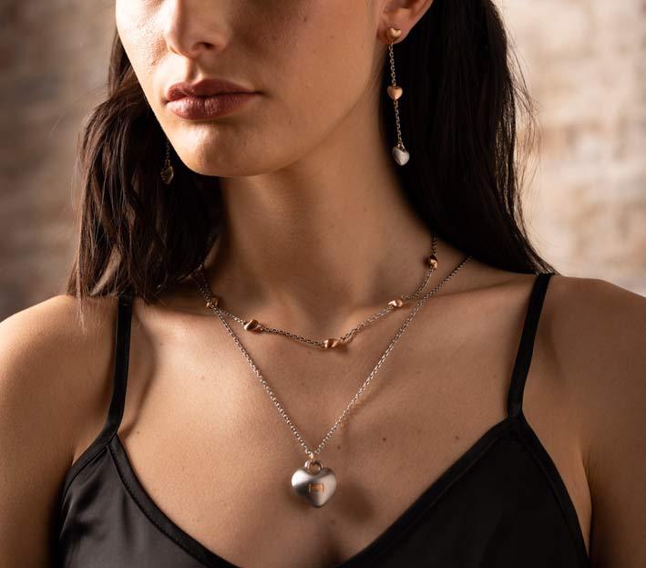 Breil, Kilos of Love, collana e orecchini