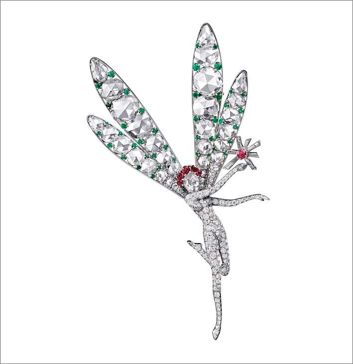Clip Fairy Dragonfly (1941) © Van Cleef & Arpels