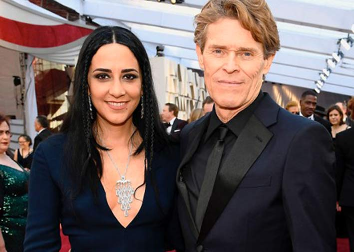 Willem Dafoe e Giada Colagrande in Damiani