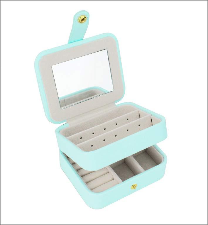Zmart Portable Travel Jewelry Box