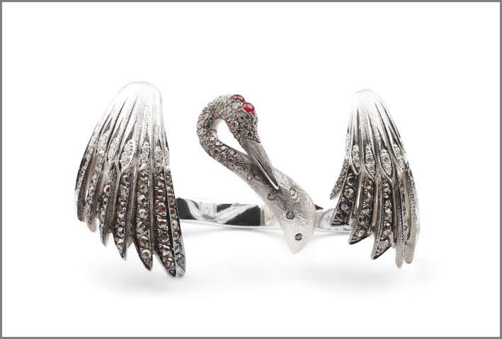 Anello in argento della collezione Odyssey