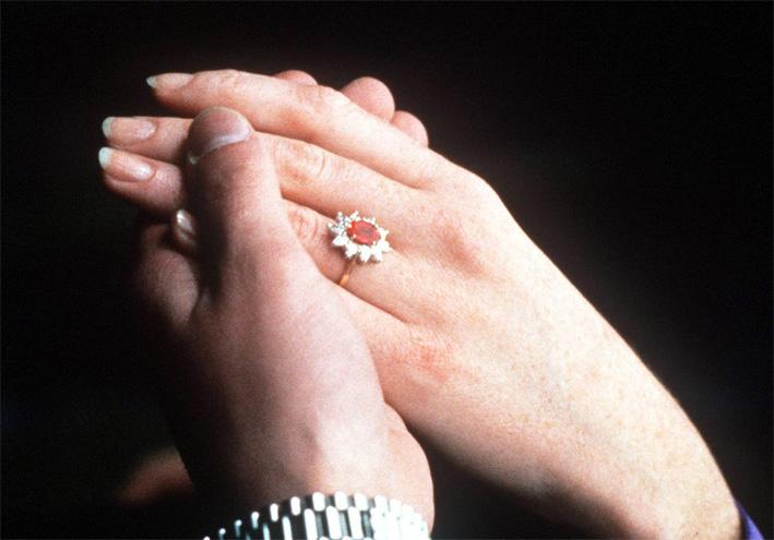 L'anello di Sarah Ferguson