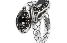 Albert M., anello in argento e spinello nero