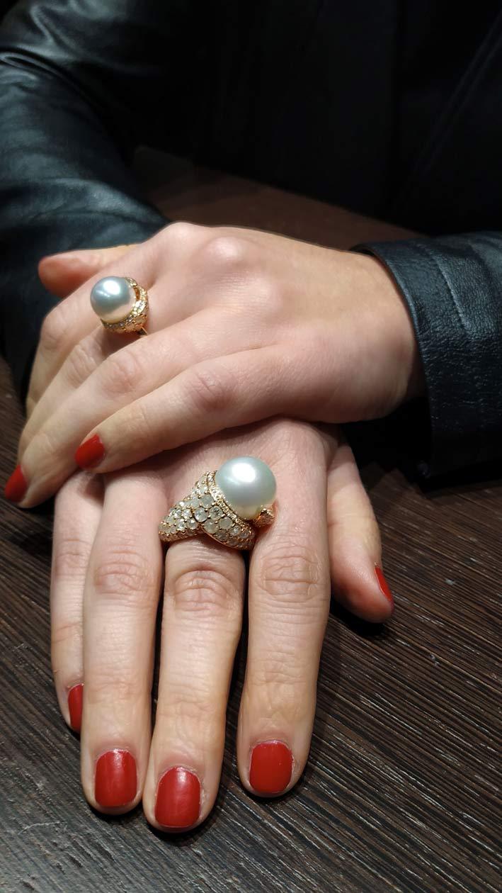 Giovanni Ferraris, anelli Vanity