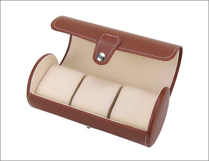 Aveson PU roll Travel Watch Jewelry Box