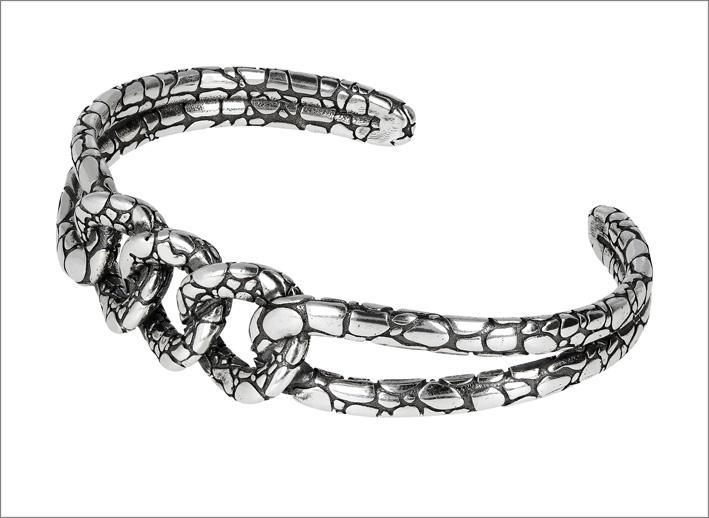 Bracciale di Albert M. in argento