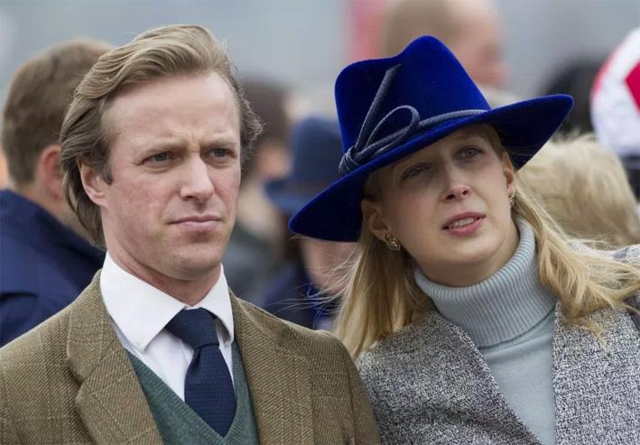 Lady Gabriella Windsor con Thomas Kingston