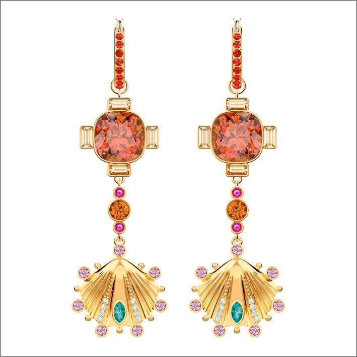 Orecchini con cristalli Svarowski della collezione Lucky Goddess
