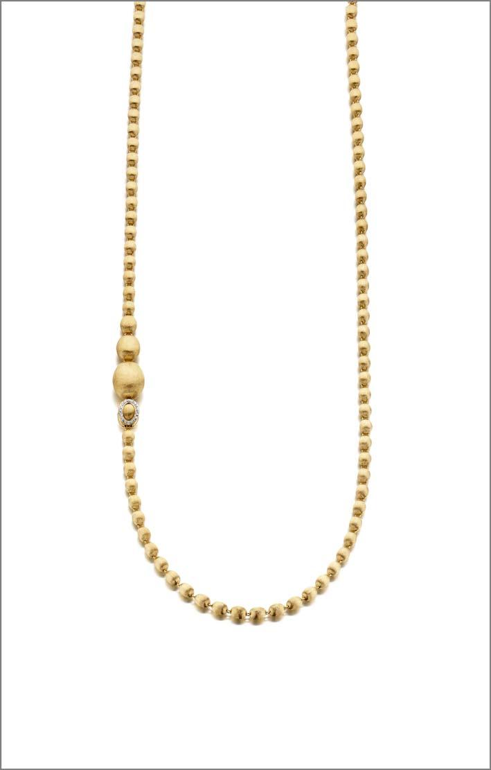 Collana Ivy di Nanis in oro e diamanti