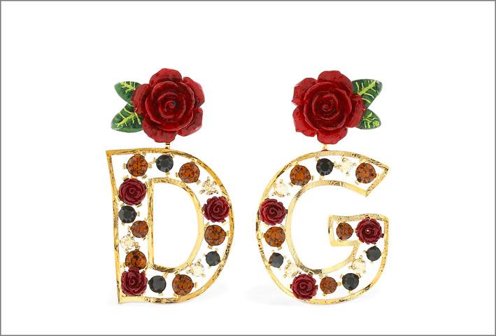 Dolce & Gabbana, orecchini della collezione 2019
