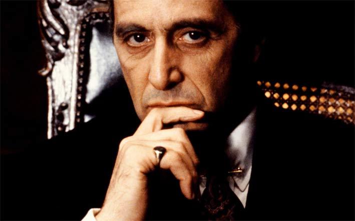 Al Pacino nel film Il Padrino (The Godfather)