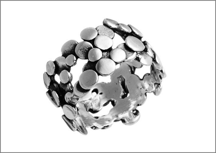 Giovanni Raspini, anello in argento