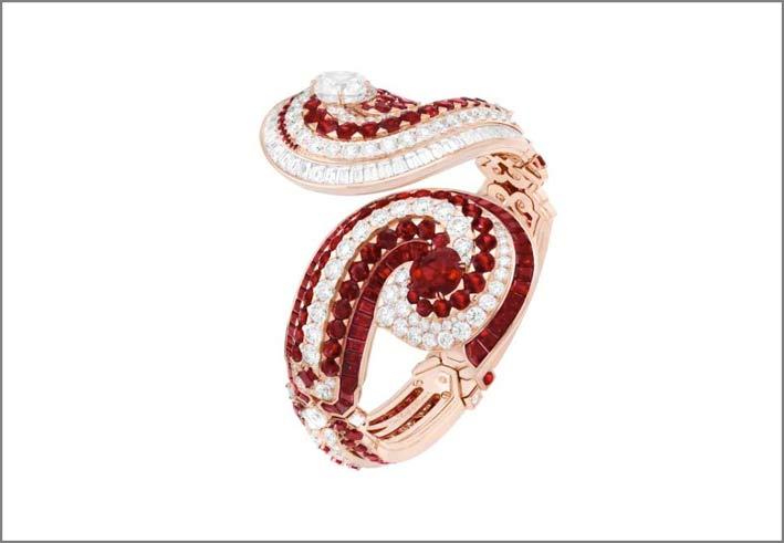 Bracciale Berunda della collezione Treasure of Rubies