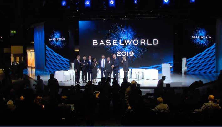 Il talk show di apertura di Baselworld 2019