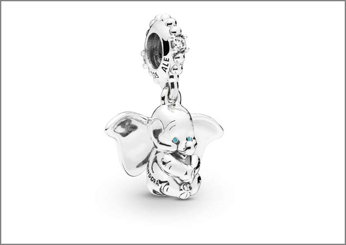 Pandora, ciondolo Dumbo in argento