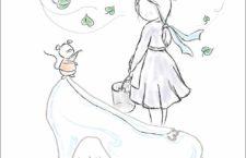 Illustrazione di SIlvia Mondomino per Le Petit Story