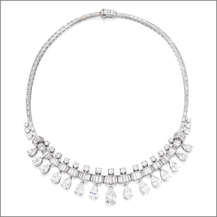 Collana di diamanti