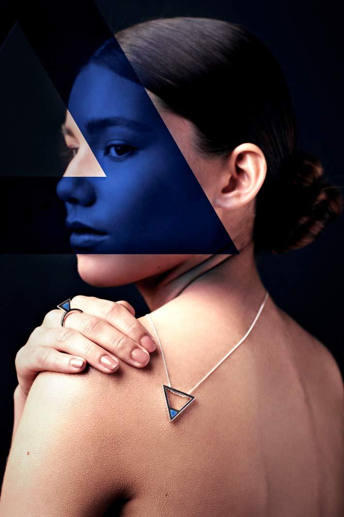 Dario Scapitta, Euklidea, Blue triangle