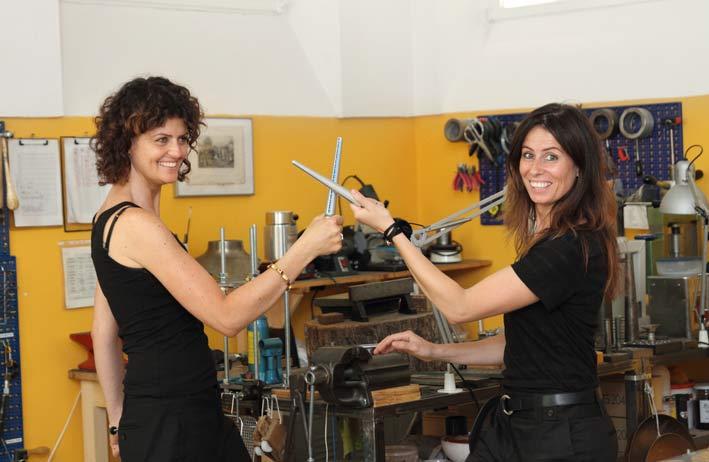 Renata Manno e Raffaella Finco, titolari di Dexter