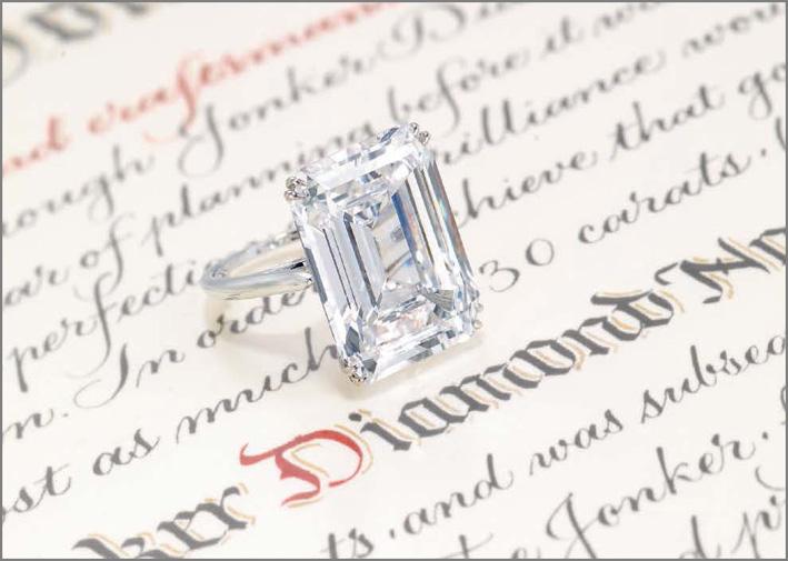 Il diamante Jonker V di 25,27 carati