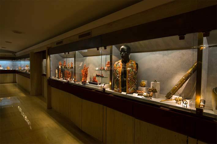 Il Museo del corallo a Torre del Greco