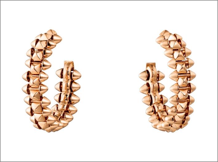 Cartier, orecchini della collezione Clash