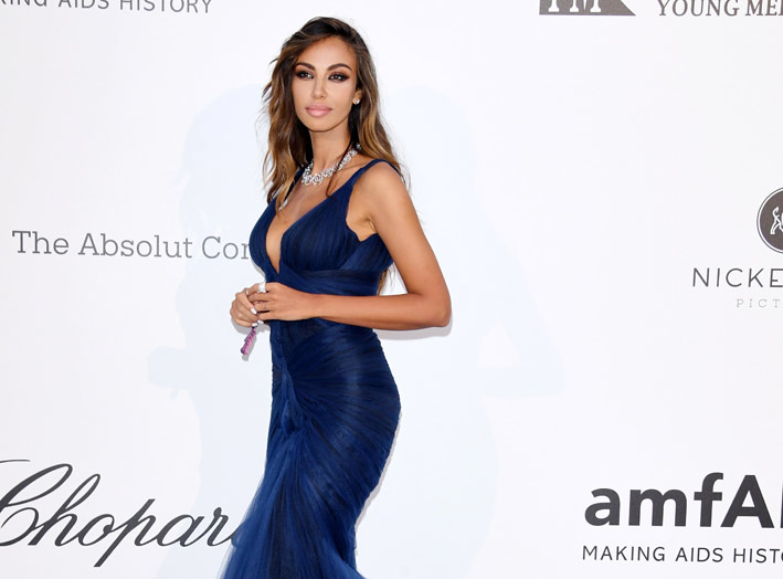 Madalina Ghenea in Damiani per amfAR, Cannes 2019