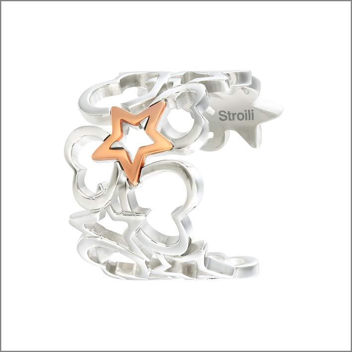 Stroili, bracciale in acciaio