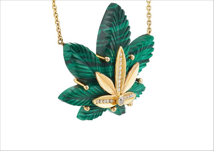 Brent Neale Winston ha deciso di portare al Couture di Las Vegas le sue creazioni in oro, diamanti e malachite