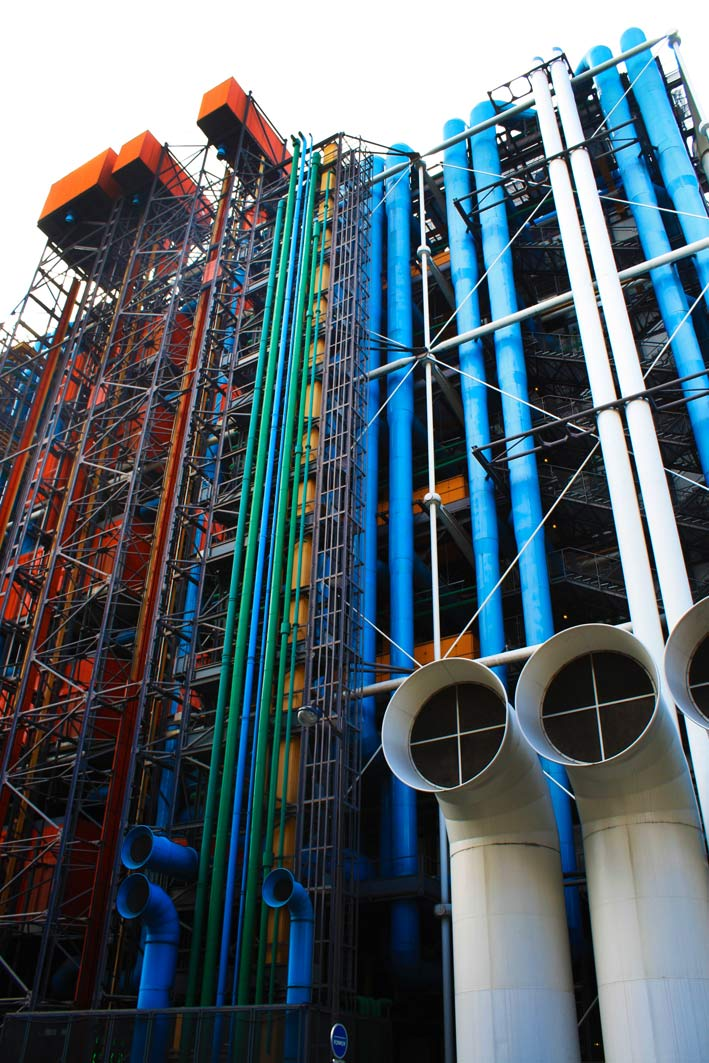 Paris, Pompidou Centre