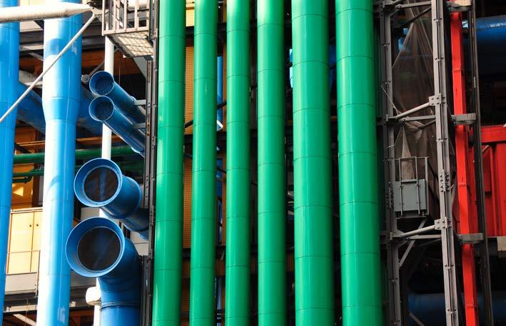 Centre Pompidou, particolare
