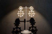 Nadia Morgenthaler, orecchini con perle e diamanti