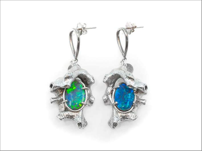 Orecchini con opali