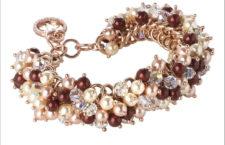Bracciale con perle Swarovski
