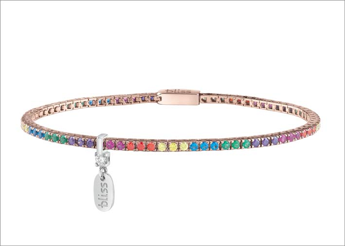 Bracelet arc-en-ciel de Bliss